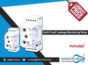 Minilec S2 CMR 4 DIN Rail Mounted Earth Fault Leakage Monitoring Relay