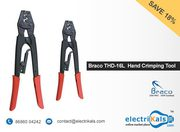 Hand Crimping Tool - Buy Braco THD-16L 1.26-16 Sq.mm Hand CrimpingTool