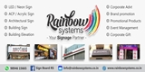 Rainbow Systems – Sign Board Manufactures & Promotion products